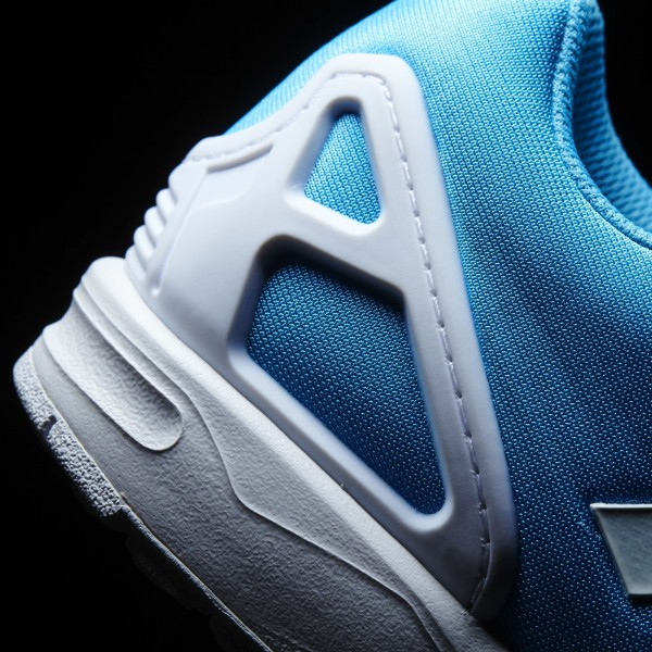 adidas Originals ZX Flux EM (S80324) - Bright Cyan/blanc/Bright Cyan -Unisex