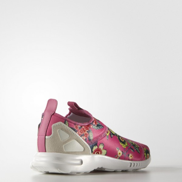 adidas Femme Originals ZX Flux ADV Smooth Slip-on (S78960) - Ray Rose/Off blanc/Ray Rose