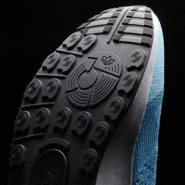 adidas Originals ZX Flux ADV Asymmetrical Primeknit (S79064) - Bleu Glow/Core Noir/Core blanc -Unisex
