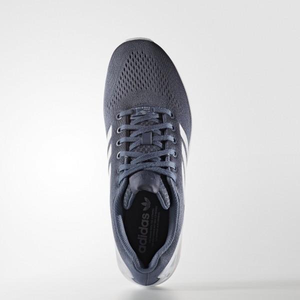 adidas Originals ZX Flux EM (S80323) - Tech Ink/ blanc/Tech Ink -Unisex