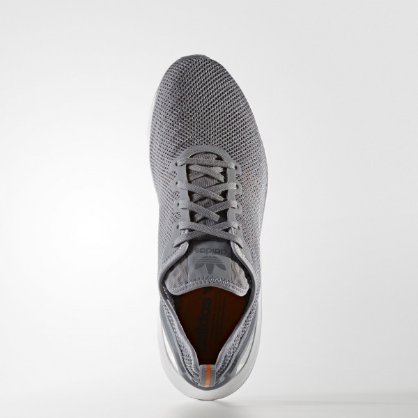 adidas Originals ZX Flux ADV Super Lite (S76554) - gris/Eqt Orange/ blanc -Unisex
