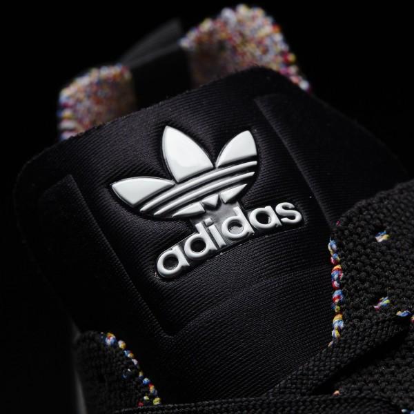 adidas Originals ZX Flux ADV Asymmetrical Primeknit (S76368) - Core Noir/Core Noir/ blanc -Unisex