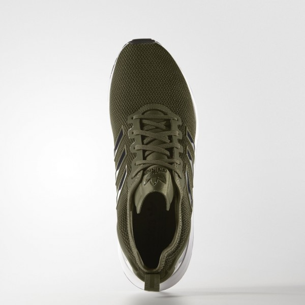 adidas Homme Originals ZX Flux ADV (AQ2680) - Olive Cargo/Core Noir