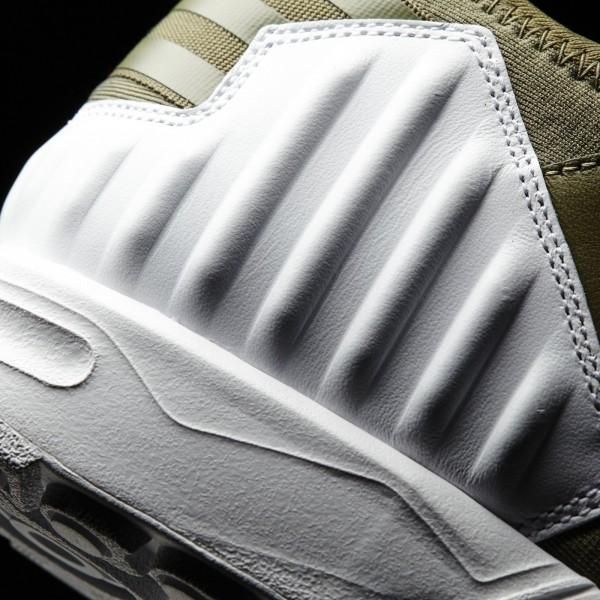 adidas Homme Originals ZX Flux Plus (S79062) - Olive Cargo S15-St / Olive Cargo S15-St / Ftwr blanc