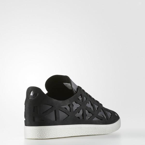adidas Femme Originals Gazelle Cutout (BY2959) - Core Noir/Core Noir/Off blanc
