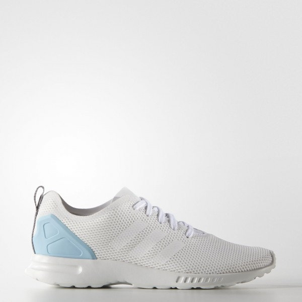adidas Femme Originals ZX Flux ADV Smooth (S78965) - Core blanc/Blush Bleu