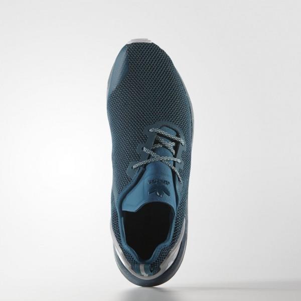 adidas Homme Originals ZX Flux ADV Asymmetrical (AQ6657) - Surf Petrol/Core Noir/blanc