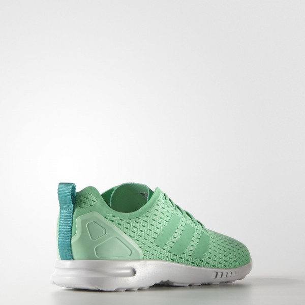 adidas Femme Originals ZX Flux ADV Smooth (S75737) - GRNGLO/GRNGLO/SHOGRN