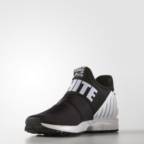 adidas Homme Originals White Mountaineering ZX Flux Plus (AQ3270) - Core Noir/blanc
