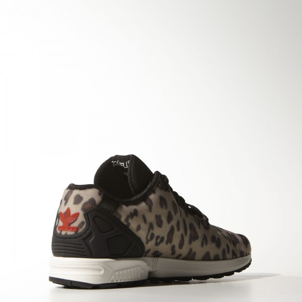 adidas Originals ZX Flux Decon (B23725) - Dust Sand/Core Noir/rouge -Unisex