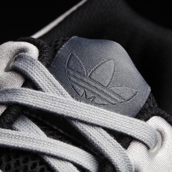 adidas Originals ZX Flux (B34505) - Clear Onyx/Clear Onyx/blanc -Unisex