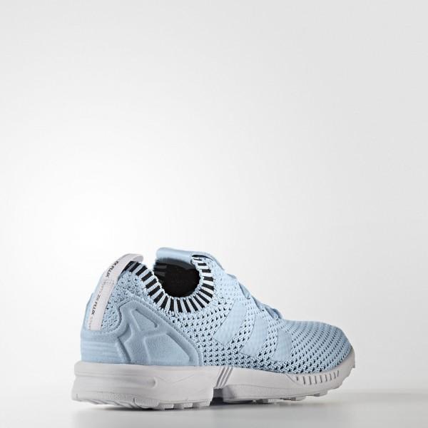 adidas Originals ZX Flux Primeknit (S75973) - Ice Bleu/Ice Bleu/Core Noir -Unisex