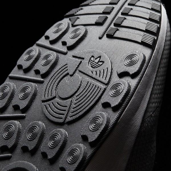adidas Originals ZX Flux ADV Asym Primeknit (S76370) - Mgh Solid gris/Mgh Solid gris/ blanc -Unisex