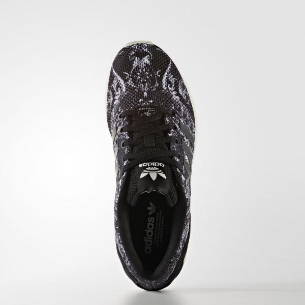 adidas Femme Originals ZX Flux (S76592) - Core Noir/Core Noir/Off blanc
