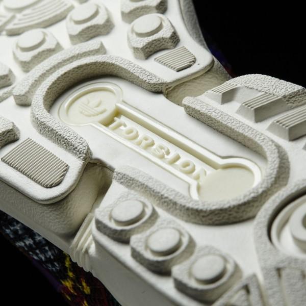 adidas Femme Originals ZX Flux (S76593) - Off blanc/Off blanc/Mid Grapef