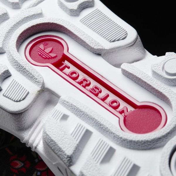 adidas Femme Originals ZX Flux (B35321) - Core Noir/Vivid Berry/blanc