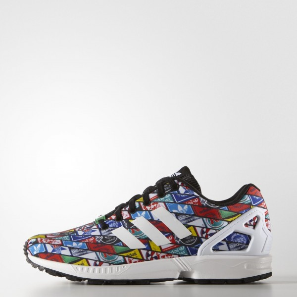 adidas Originals ZX Flux (B24904) - blanc / blanc / Core Noir -Unisex