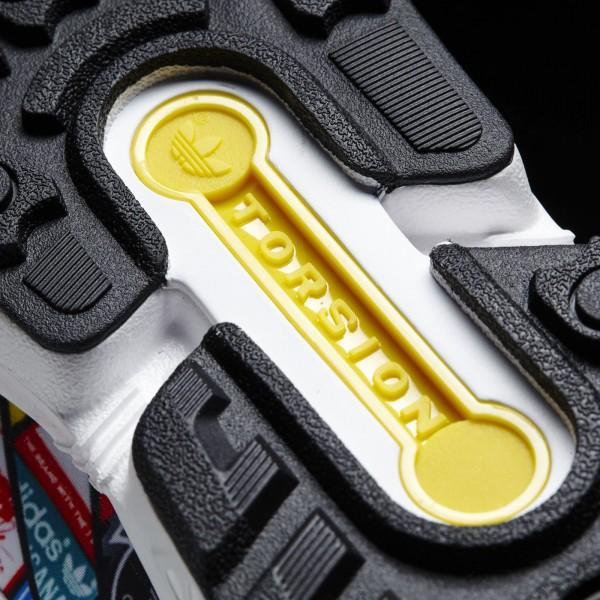 adidas Originals ZX Flux (B24904) - blanc / blanc / Core Noir -Unisex