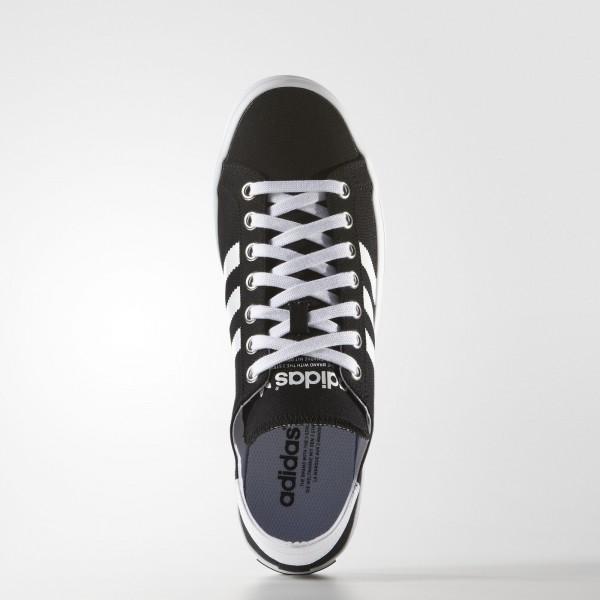 adidas Originals Court Vantage (S79302) - Core Noir/blanc/Metallic argent Solid -Unisex