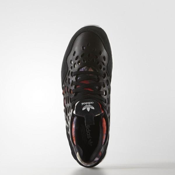 adidas Femme Originals ZX Flux Lace (S81319) - Core Noir/Core Noir/blanc