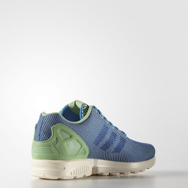 adidas Originals ZX Flux Weave (AF6294) - Super vert/Power Bleu/Chalk blanc -Unisex