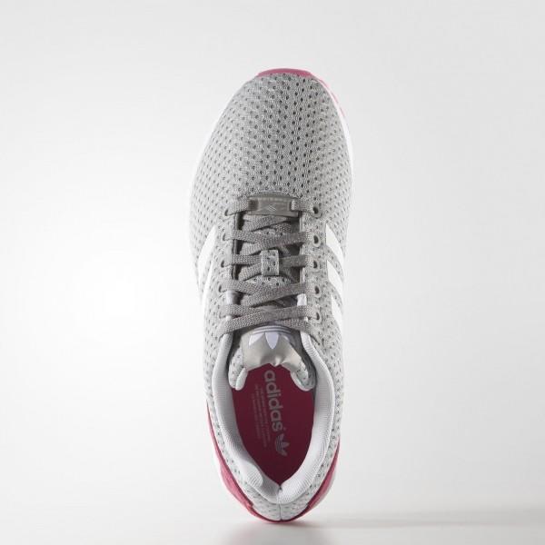 adidas Femme Originals ZX Flux (B35313) - Mgh Solid gris / Ftwr blanc / Solar Rose