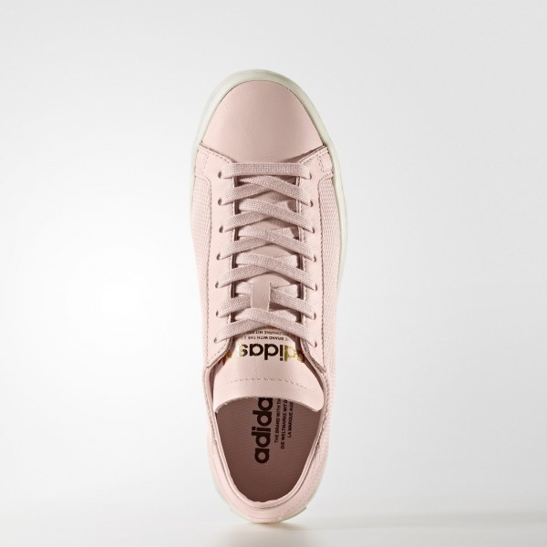 adidas Femme Originals Court Vantage (BY9226) - Icey Rose /Icey Rose /Off blanc