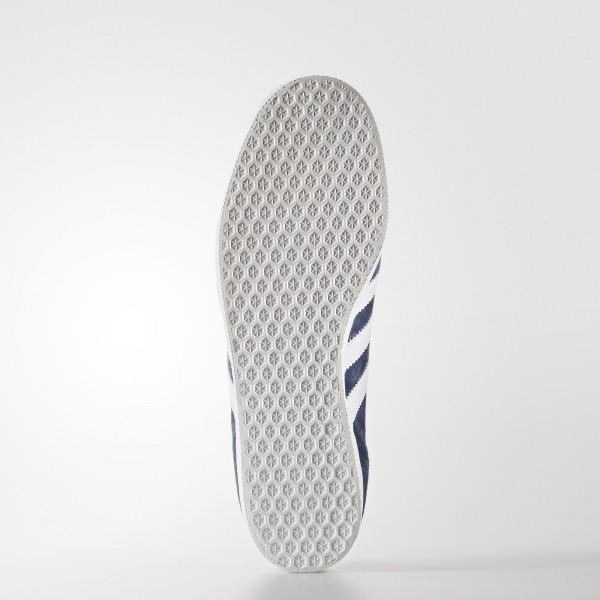 adidas Originals Gazelle (BB5480) - Dark gris Heather Solid gris/blanc/or Metallic -Unisex