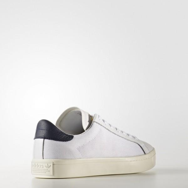 adidas Originals Court Vantage (BZ0427) - Footwear blanc/Collegiate Navy -Unisex