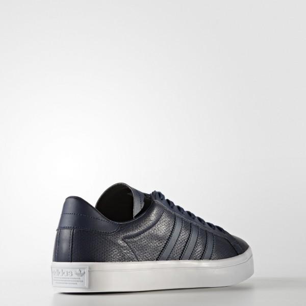 adidas Homme Originals Court Vantage (BZ0443) - Collegiate Navy/Collegiate Navy/Collegiate Navy -Unisex