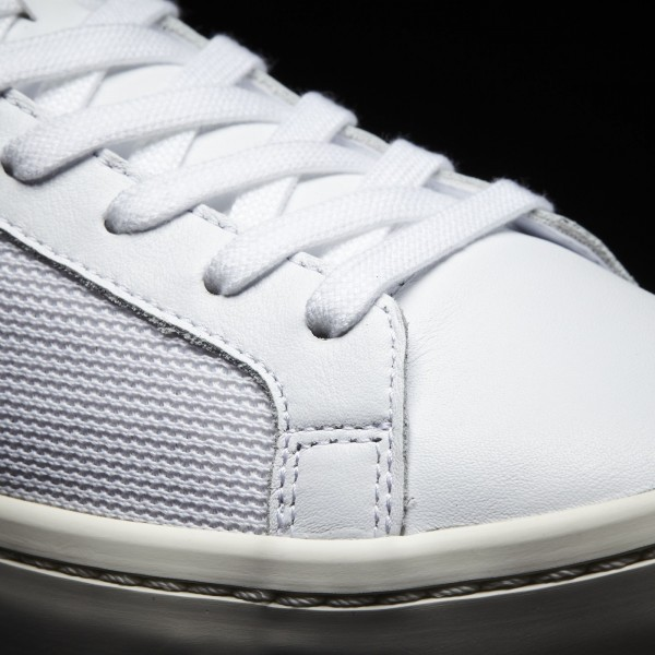 adidas Originals Court Vantage (BZ0428) - Footwear blanc/Footwear blanc/rouge -Unisex