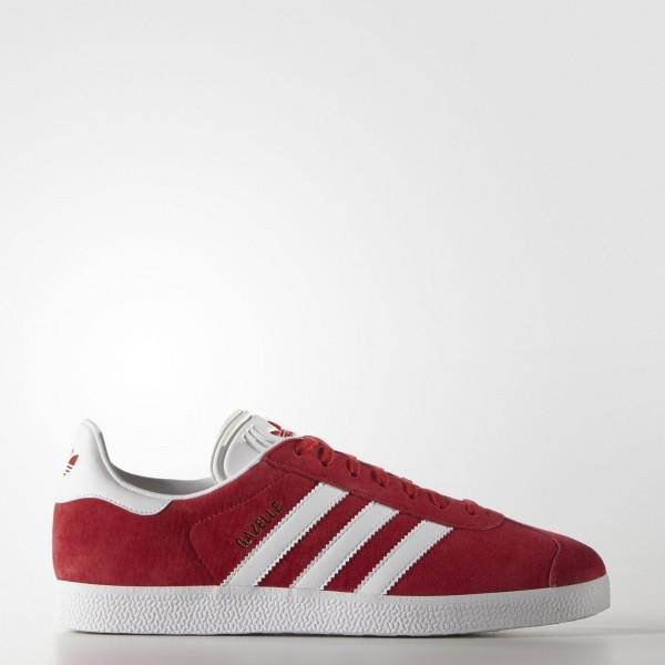 adidas Originals Gazelle (S76228) - Scarlet/Footwe...