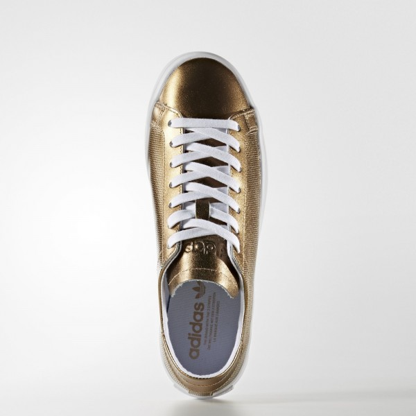 adidas Femme Originals Court Vantage (BB5201) - Copper Metallic/Footwear blanc