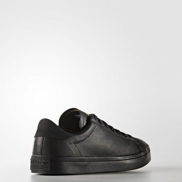 adidas Homme Originals Court Vantage (S76195) - Core Noir/Core Noir/Core Noir