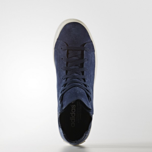 adidas Femme Originals Court Vantage Slip-on Mid (S79959) - Collegiate Navy/Collegiate Navy/Off blanc