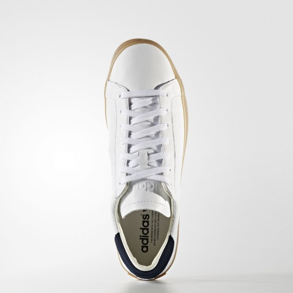 adidas Originals Court Vantage (S76201) - blanc/ blanc/ blanc -Unisex