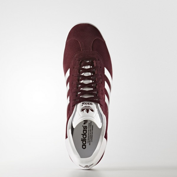 adidas Originals Gazelle (BB5255) - Maroon/Footwear blanc/or Metallic -Unisex