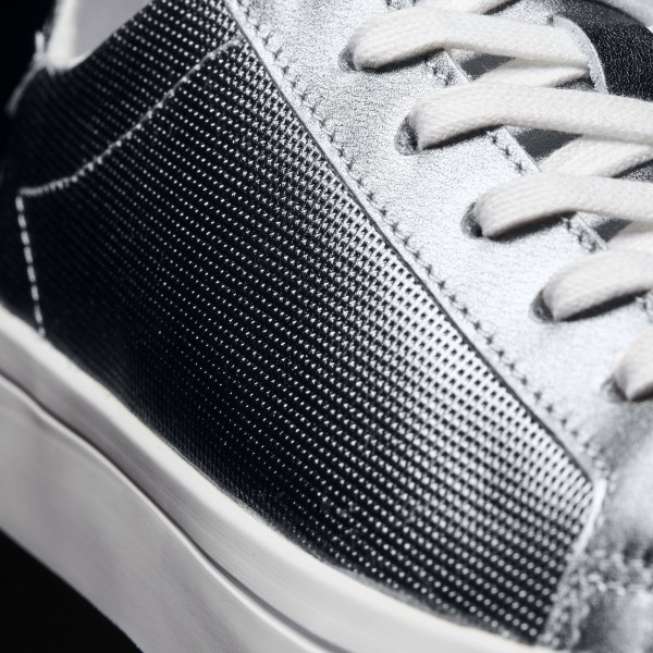 adidas Originals Court Vantage Mid (S78800) - blanc/Shock vert/Collegiate Navy -Unisex