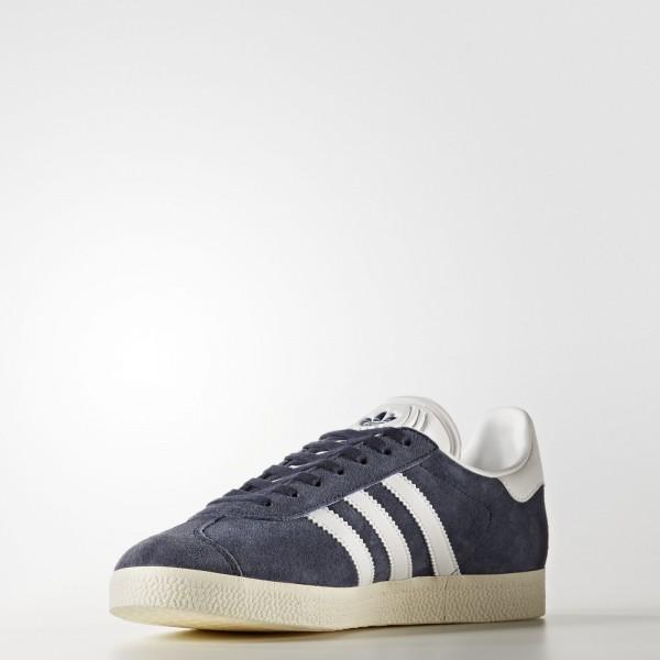 adidas Femme Originals Gazelle (BY9353) - Trace Bleu /Footwear blanc/or Metalic