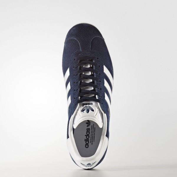 adidas Femme Originals Gazelle (BY9359) - Collegiate Navy/Footwear blanc/or Metalic