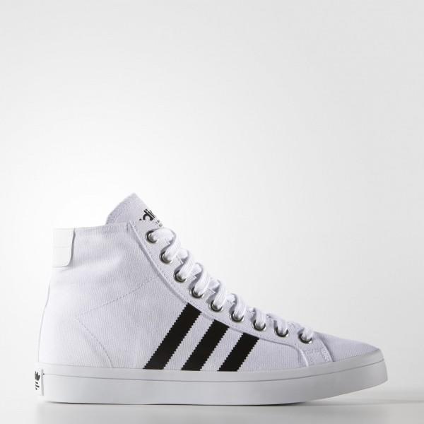 adidas Originals Court Vantage Mid (S78792) - blan...