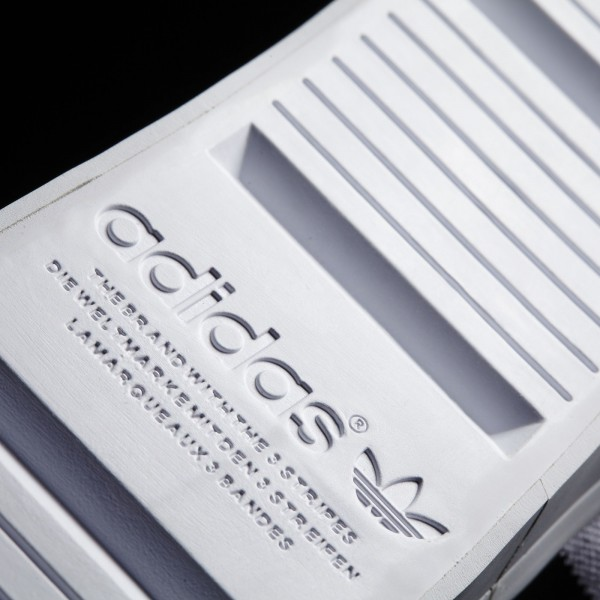 adidas Originals Court Vantage Mid (S78792) - blanc/Core Noir/Metallic argent Solid -Unisex