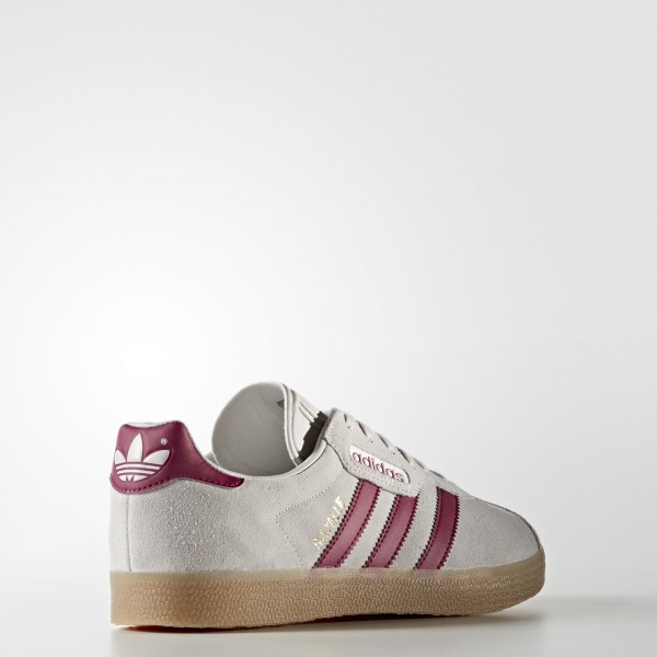 adidas Homme Originals Gazelle Super (BY9777) - gris One /Mystery Ruby /or Metalic