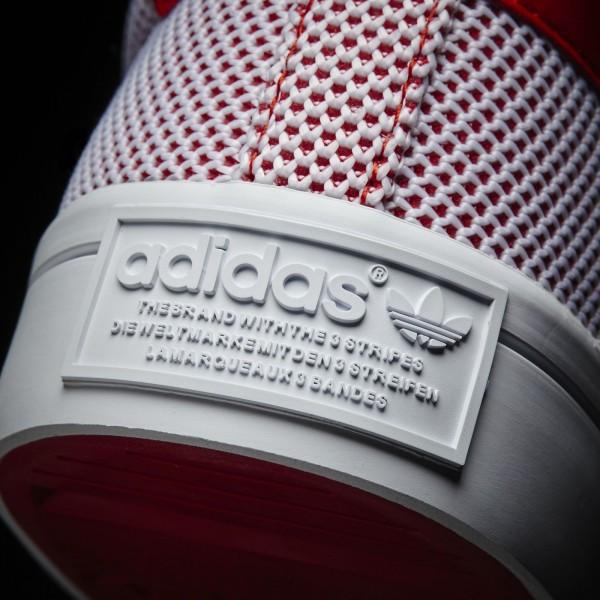 adidas Originals Court Vantage (S81871) - Collegiate rouge/blanc/Collegiate rouge -Unisex