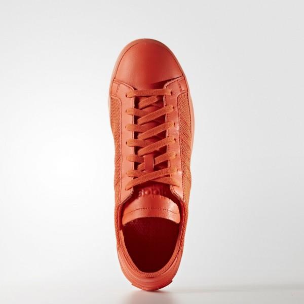 adidas Originals Court Vantage (S76204) - Semi Solar rouge/Semi Solar rouge/Semi Solar rouge -Unisex