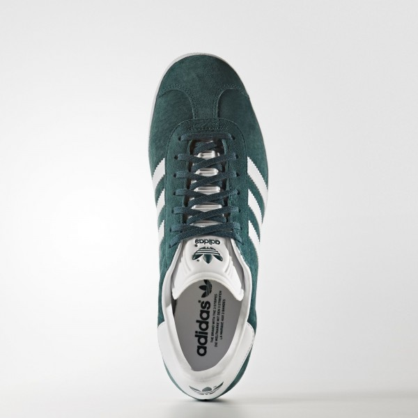 adidas Originals Gazelle (BB5253) - Mystery vert/Footwear blanc/or Metallic -Unisex