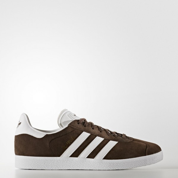 adidas Originals Gazelle (BB5254) - marron/Footwear blanc/or Metallic -Unisex