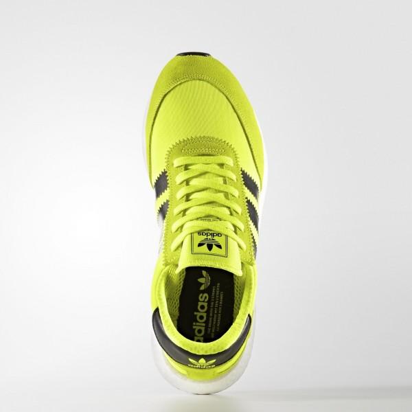 adidas Originals Iniki Runner (BB2094) - Solar Jaune/Core Noir/Footwear blanc -Unisex