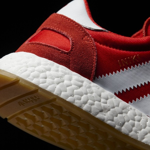 adidas Originals Iniki Runner (BY9728) - rouge/Footwear blanc/Gum -Unisex