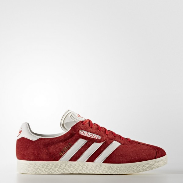 adidas Originals Gazelle Super (BB5242) - rouge/Vi...